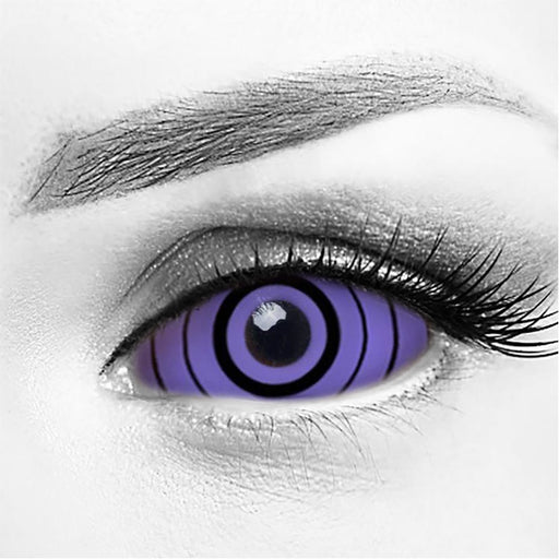 Sharingan Rinnegan Purple Sclera 22MM Contacts