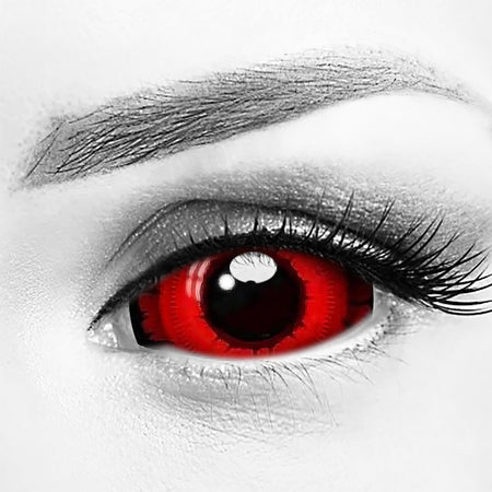 Angry Wolf Eye Sclera 22mm Contacts