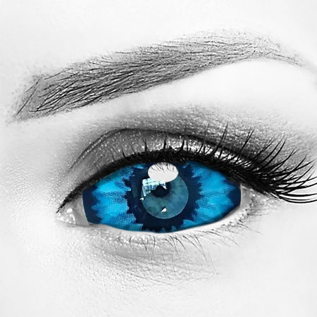 Elf Blue Eye Sclera 22mm Contacts