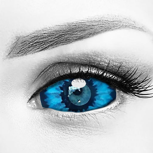 Elf Blue Eye Sclera Contacts 22mm Lenses