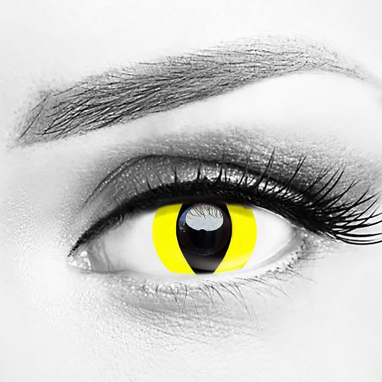 Yellow Cat Eyes Lenses