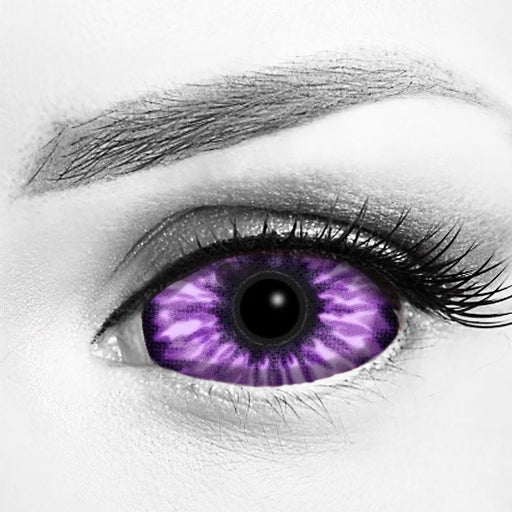 Purple Elf Eye Sclera Contacts 22mm Lenses