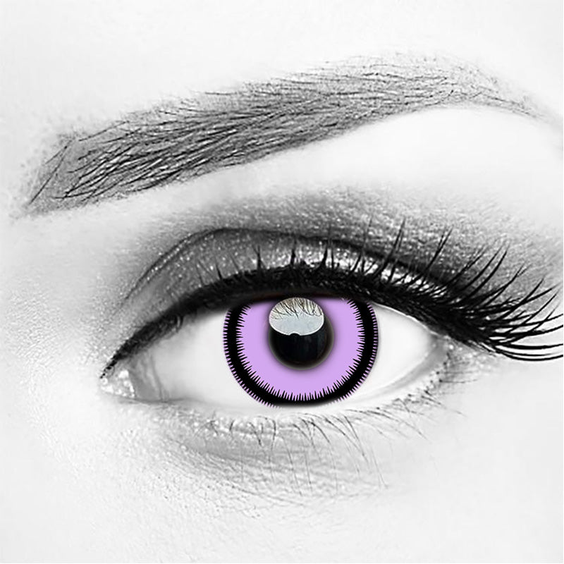 Purple Monster Eye Halloween Contact Lenses