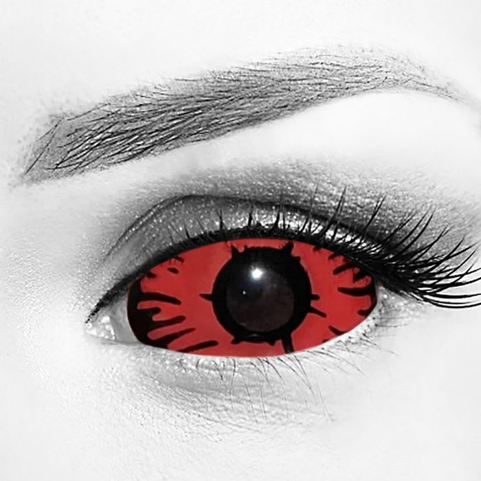 Red Devil Eye Sclera 22mm Contacts