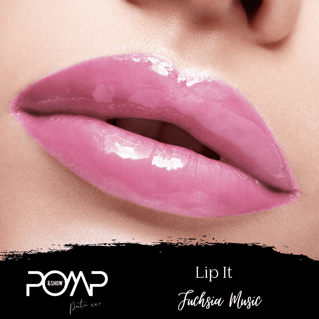 POMP & SHOW Fuchsia Music Cruelty Free long lasting lip  it gloss  (10128627080)