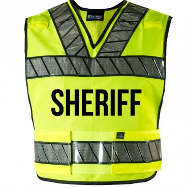 ORALITE  BREAKAWAY SAFETY VEST - SHERIFF LOGO