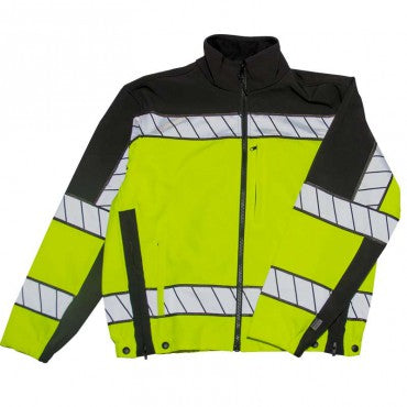 COLORBLOCK SOFTSHELL FLEECE JACKET