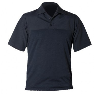 SS POLYESTER ARMORSKIN  BASE SHIRT  (COLOR: DARK NAVY)