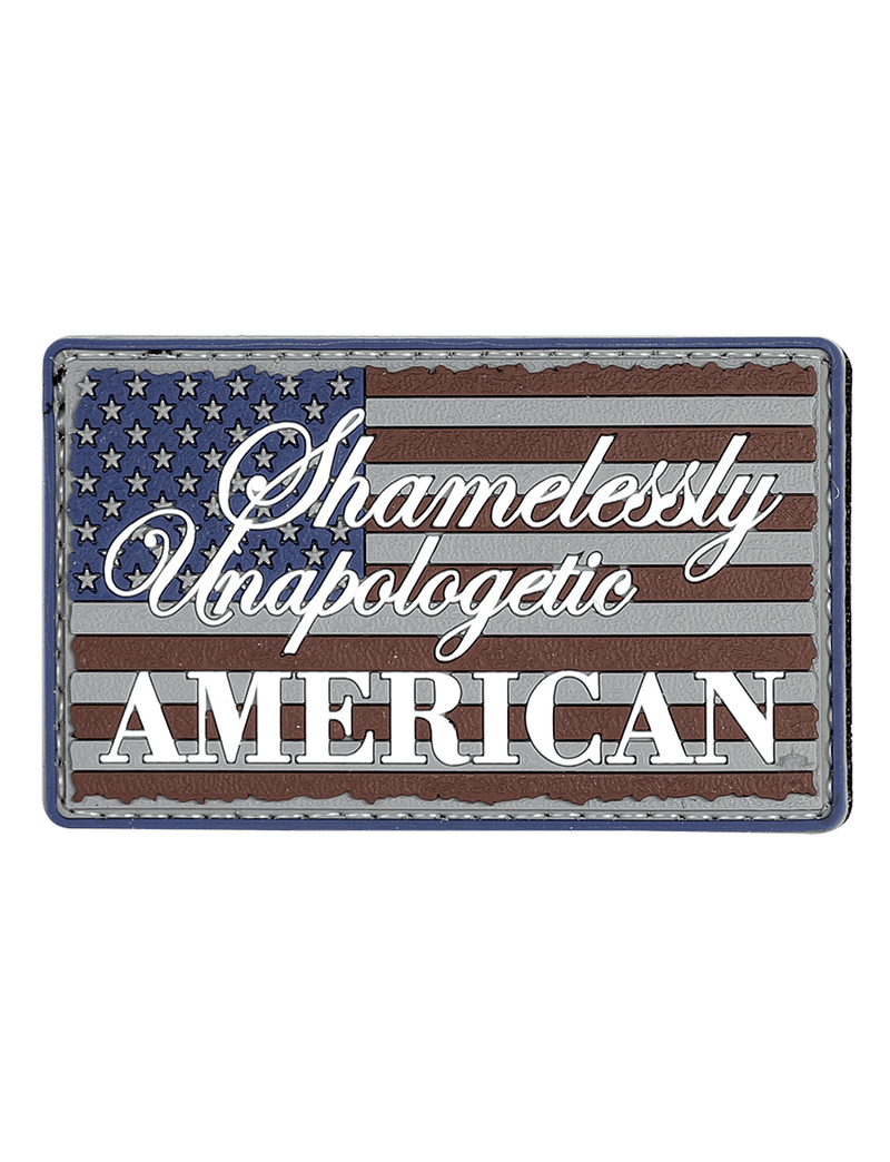 MORALE PATCH, UNAPOLOGETIC