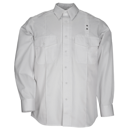 Men'S Pdu Long Sleeve Twill Class A Shirt
