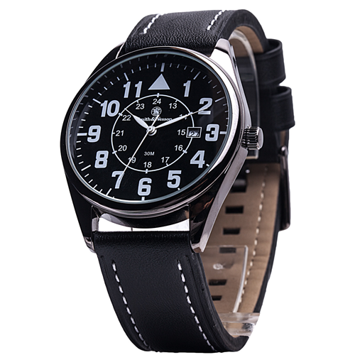 CIVILIAN WITH LEATHER STRAP