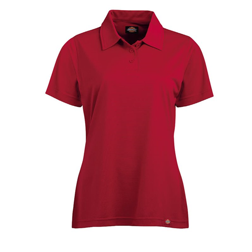 Women's Industrial Short-Sleeve Polo