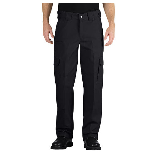 Tactical Relaxed Fit Straight Leg Canvas Pant