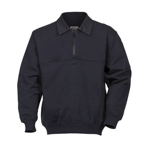 Shield Job Shirt Navy, Tall Twill  Collar