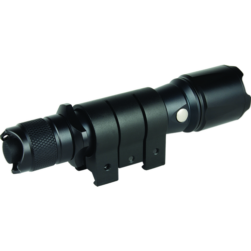 Flashlight rail mount