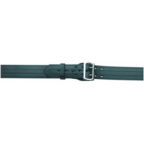 GOULD AND GOODRICH -LINED DUTY BELT, 4 ROW STITCHE