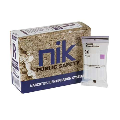 NIK POLYTESTING SYSTEM OF NARCOTICS IDENTIFICATION