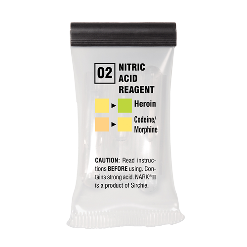 Sirchie - NARKII™ Test 02-Nitric Acid- Box of 10