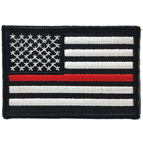 Thin Red Line American Flag Patch