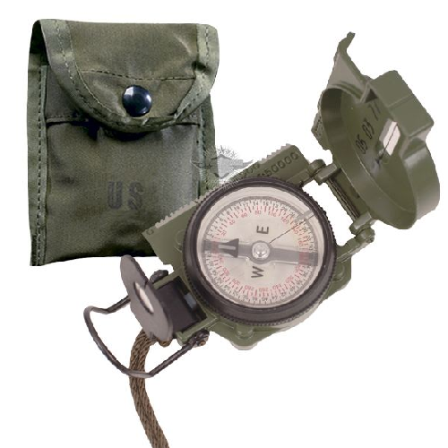 COMPASS, GI LENSATIC, W-POUCH