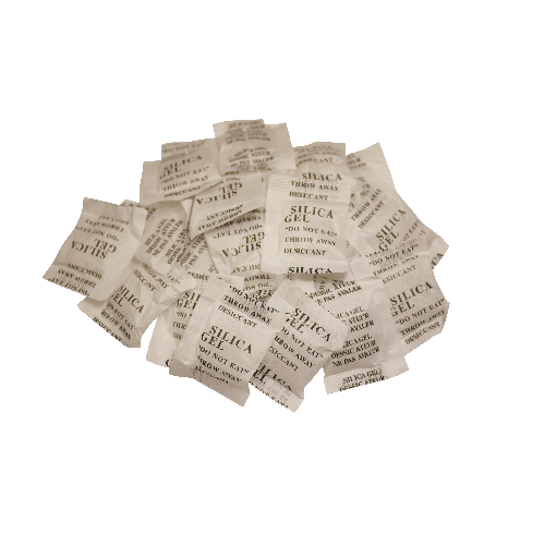 SILICA GEL, DESICANT, BAG, 24 COUNT