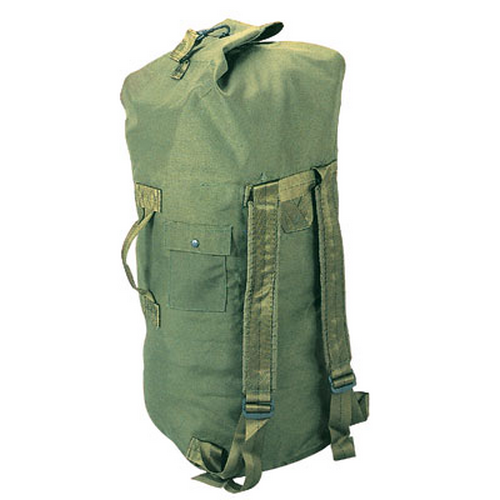 Olive Drab Canvas Top Load Duffle
