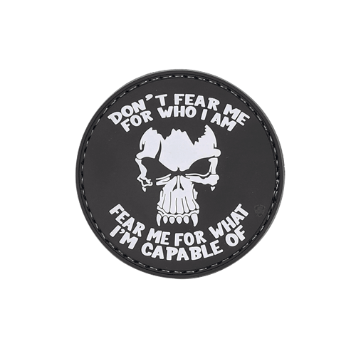 MORALE PATCH, DON'T FEAR ME
