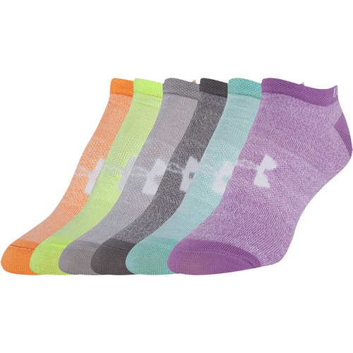 UA Women's Liner 6-Pack No Show