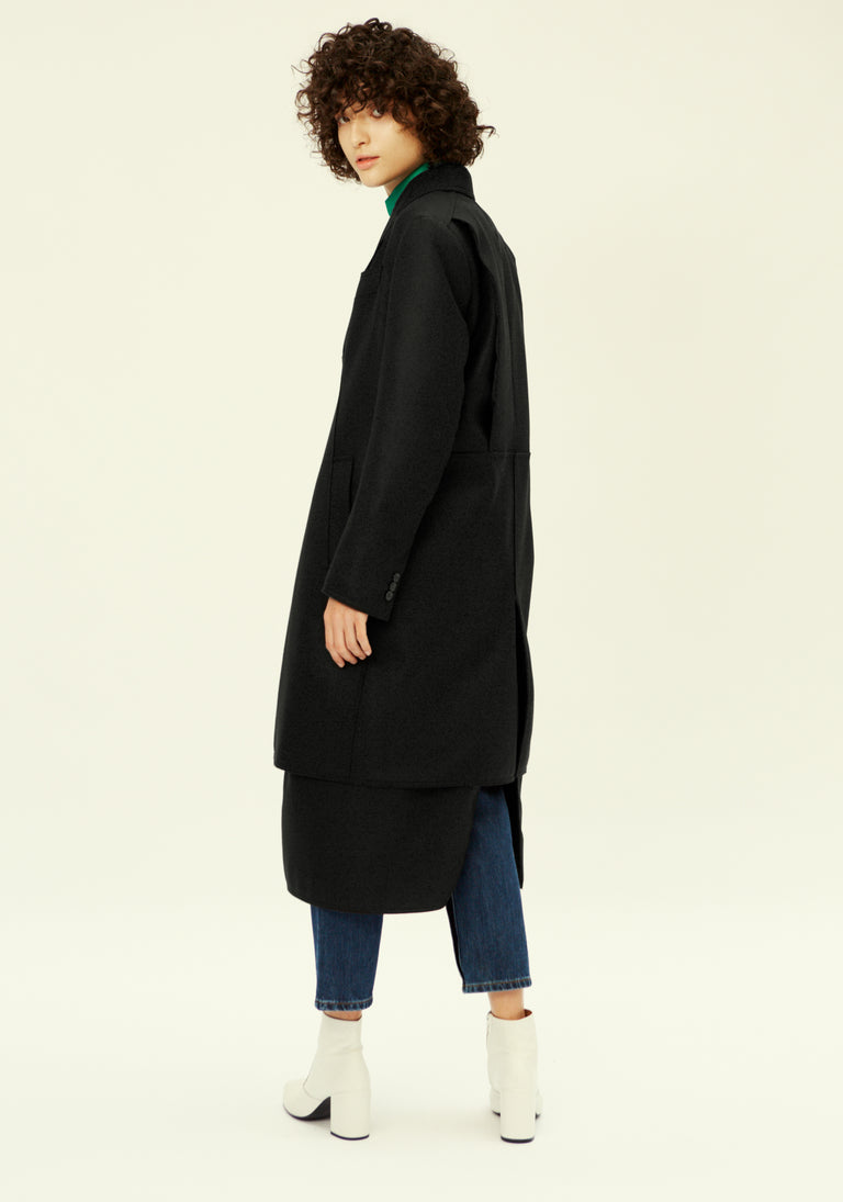 Boxy Wool Coat