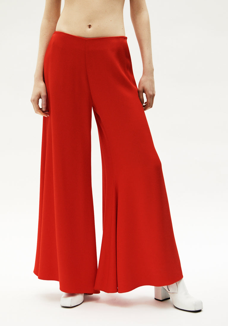 Extra Wide Flared Trousers