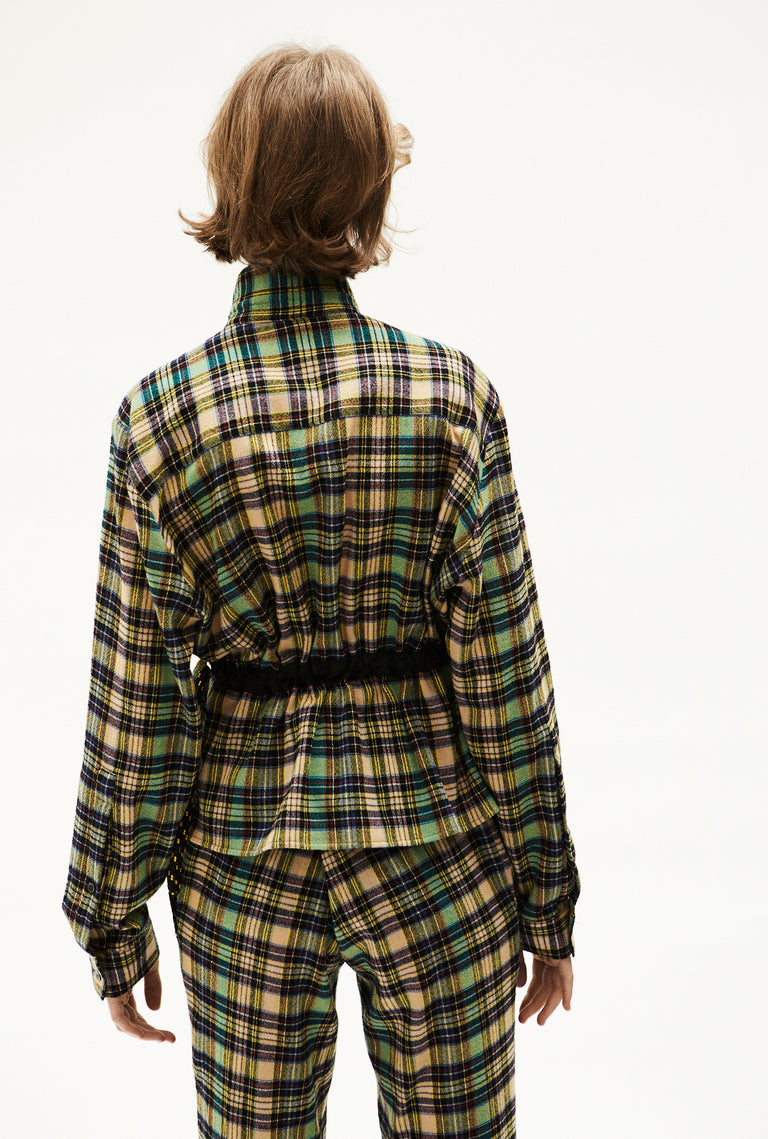 Shirt With Adjustable Waist Check