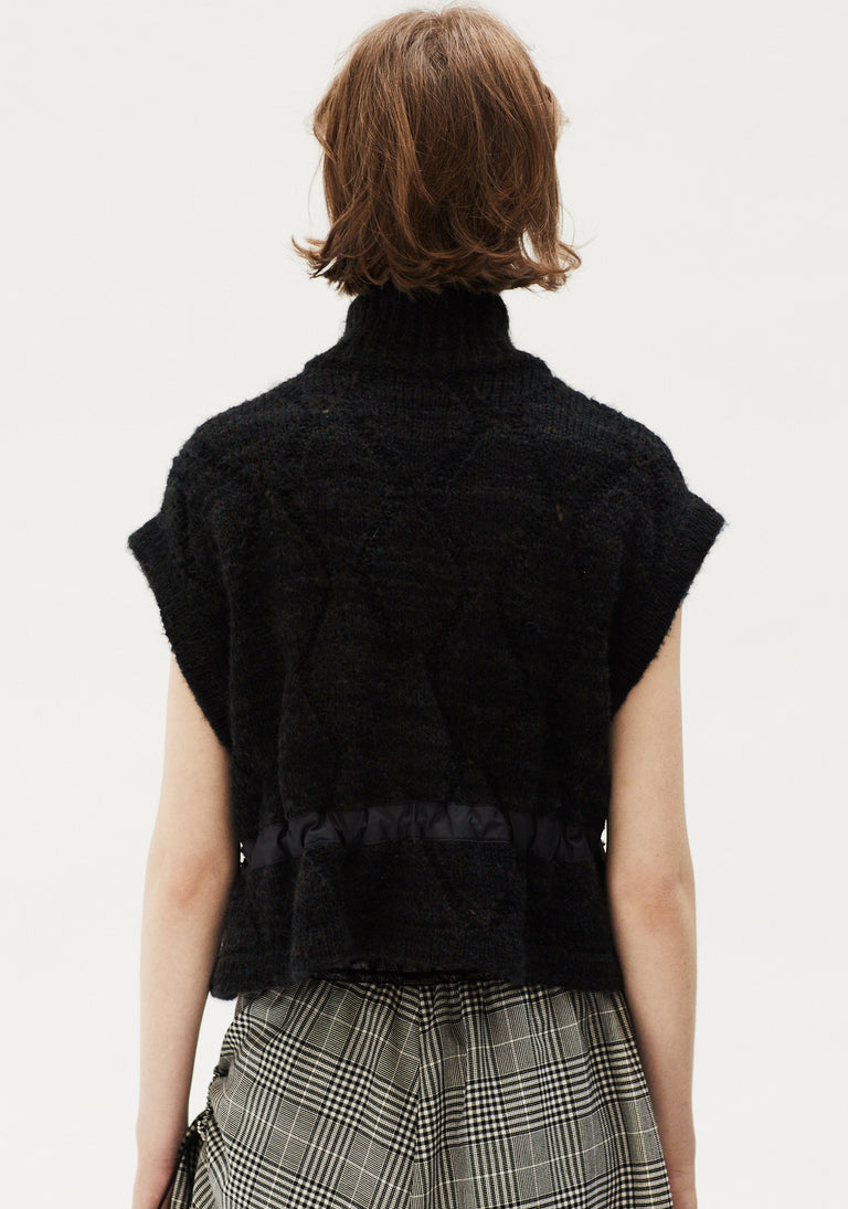 Zipped Knit Vest