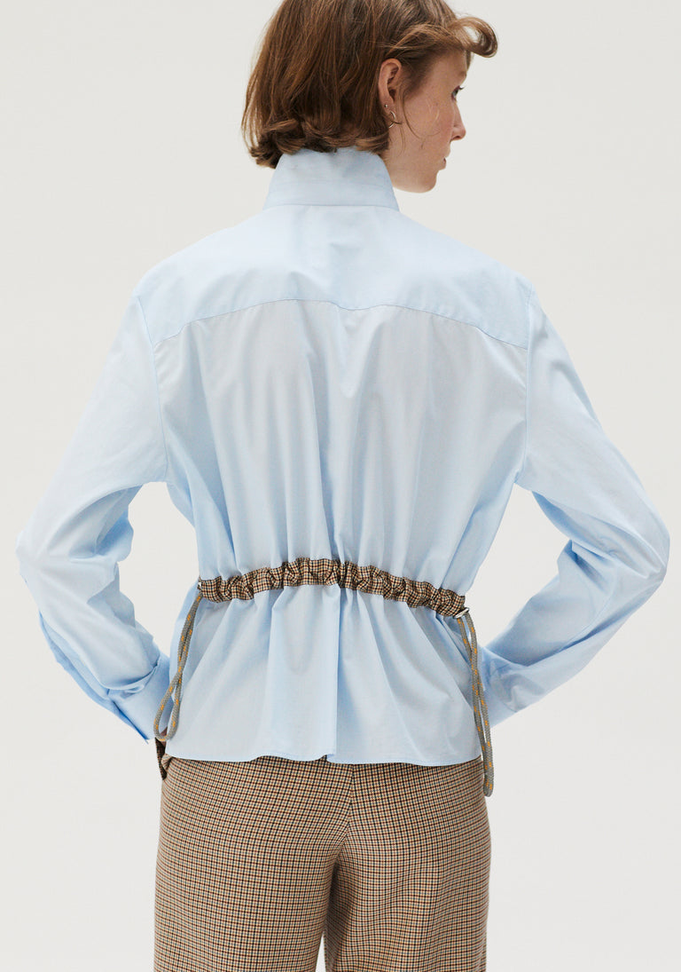 Shirt With Adjustable Waist Blue