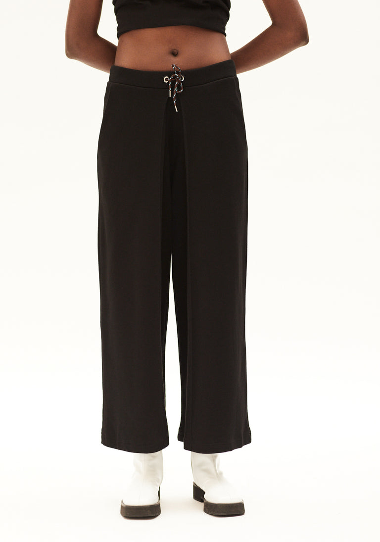 Jersey Trousers With Pleats