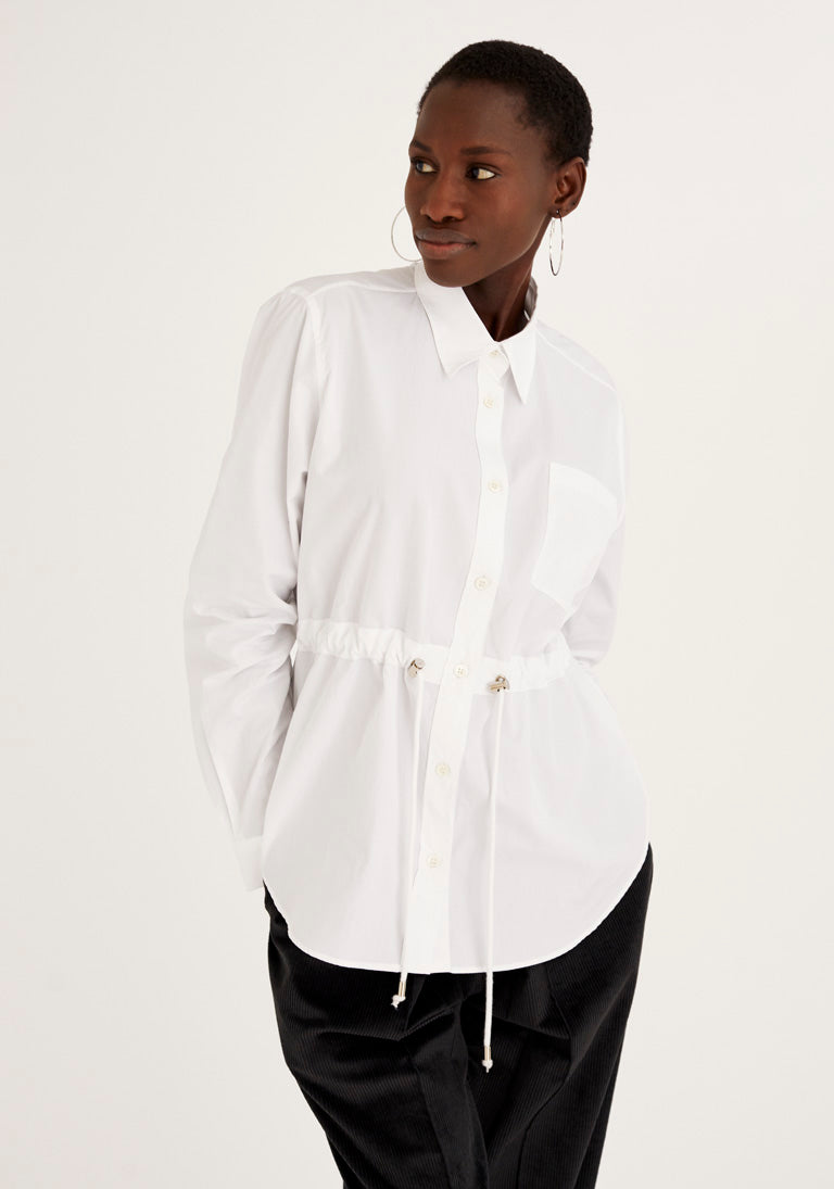 Shirt With Adjustable Waist
