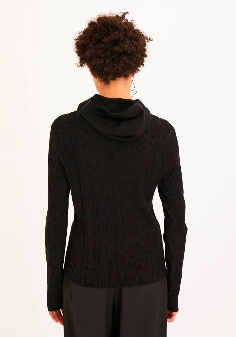 Black Balaclava Long-sleeve