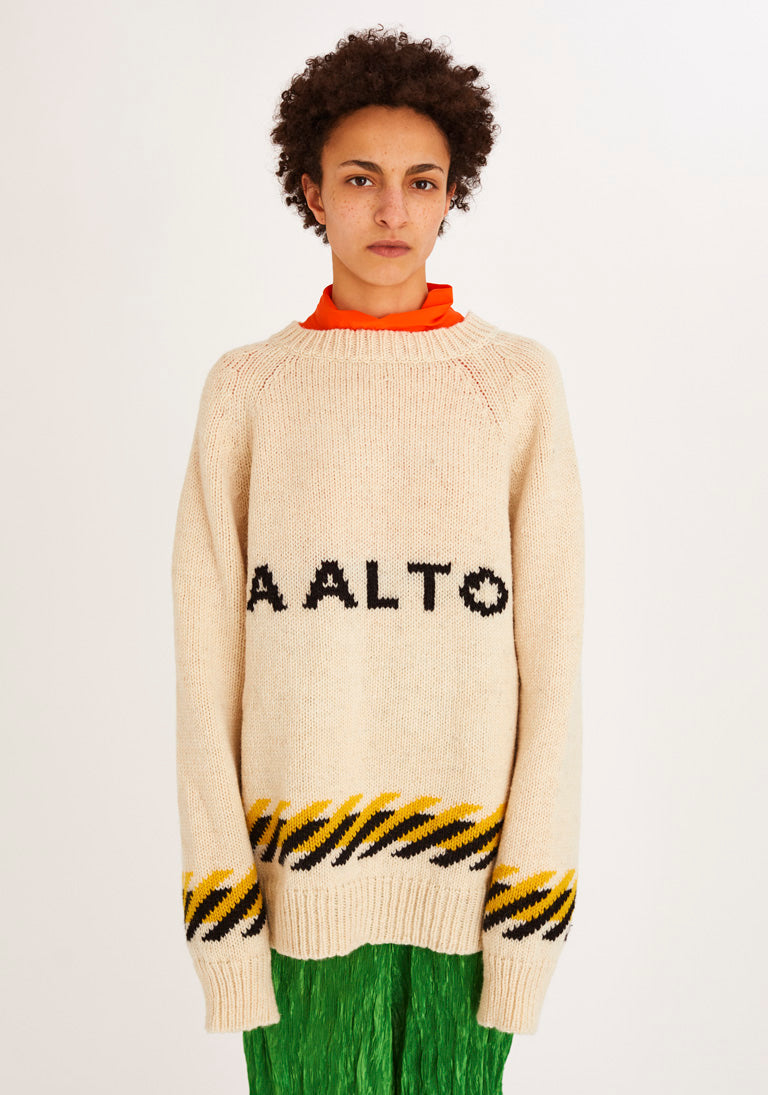 Hand Knitted AALTO Sweater