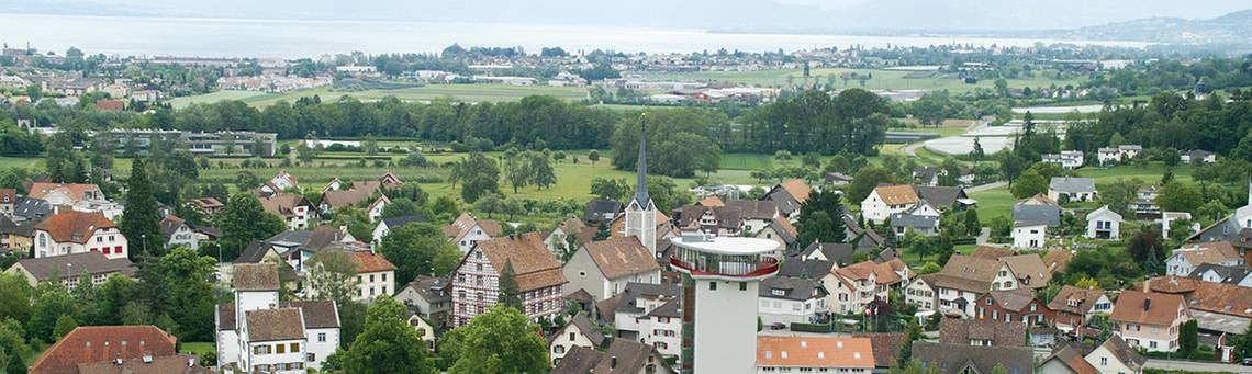 kybun Tower in Roggwil, Switzerland