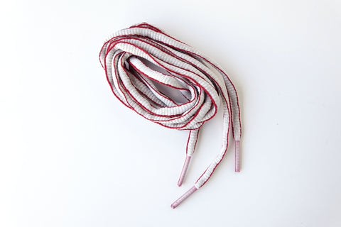 Shoelace red/silver - for Namsan Red