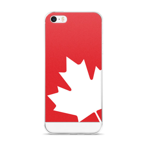 Canada Flag - iPhone 5/5s/Se, 6/6s, 6/6s Plus case