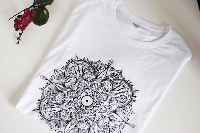 Camiseta Blanca Laberynth
