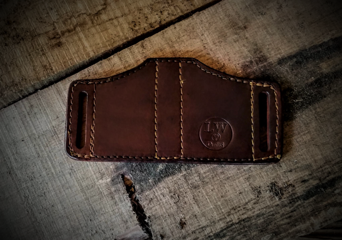 The Lonewoodsman Double Magazine Holster
