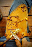 The Lonewoodsman Leather Leg Protector