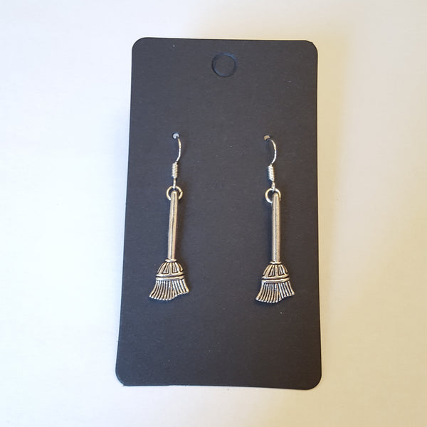 Broomstick earrings