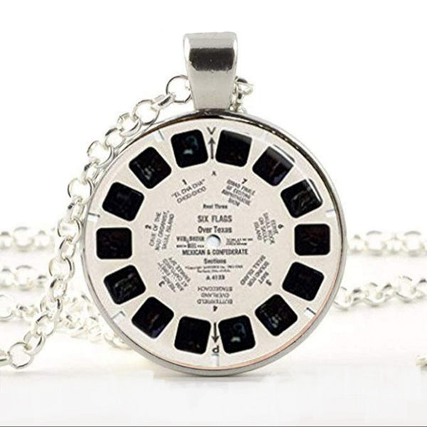 View Master reel necklace