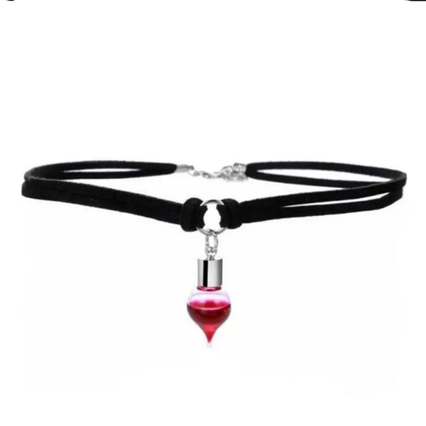 Blood vial choker