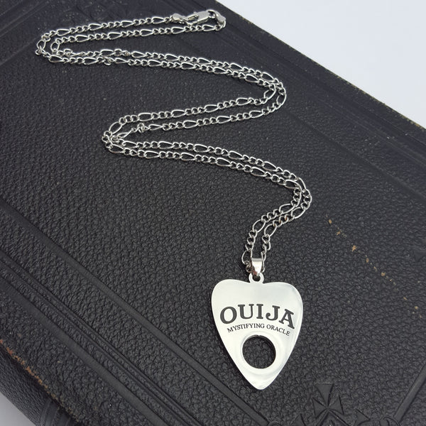 Ouija mystifying oracle planchette necklace