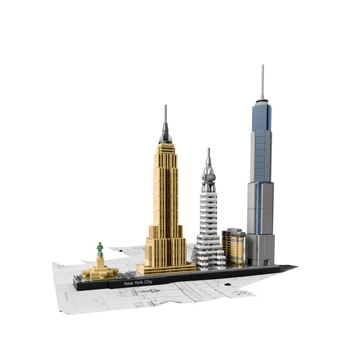 LEGO Architecture 21028 New York City Avattu Paketti
