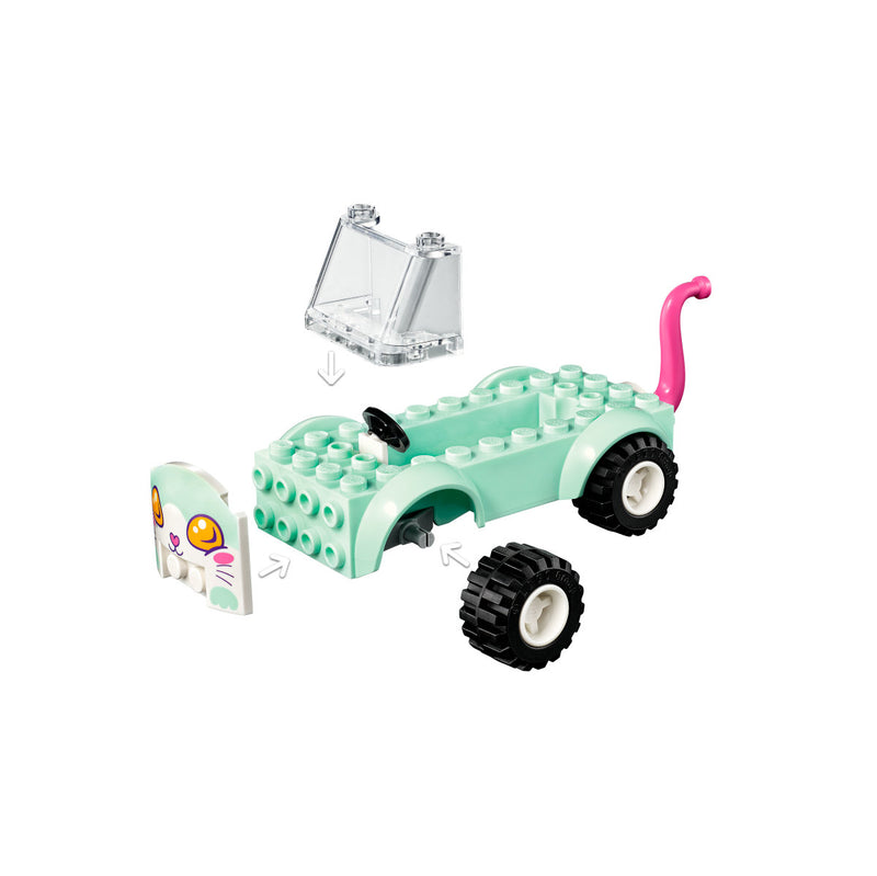 LEGO Friends 41439 Kissan trimmausauto