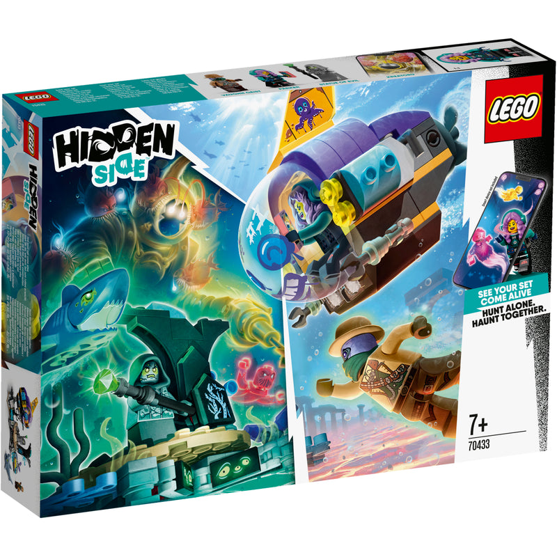 LEGO Hidden Side 70433 J.B.:n sukellusvene